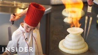 Download What It Takes To Be A Benihana Chef Video