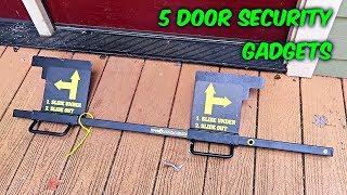 Download 5 Door Security Gadgets put to the Test Video