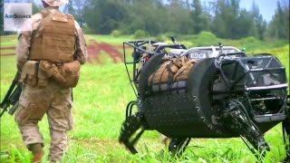 Download LS3 Robotic Pack Mule Field Testing by US Military Video