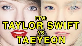Download For The Win: Taylor Swift vs Taeyeon Video