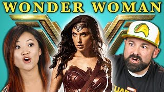 Download ADULTS REACT TO WONDER WOMAN TRAILER Video
