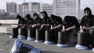 Download STICKSTOFF – Bucket Drum – 2012 Video