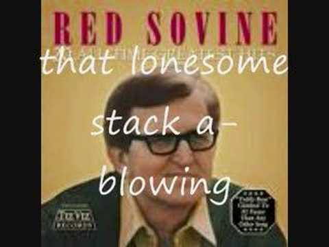 Red Sovine - 18 wheels a hummin' Lyrics