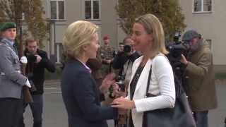Download Federica Mogherini's visit to Berlin Video