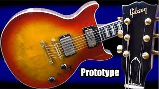Download Gibson Planned to Destroy PRS... WITH THIS?   1992 Experimental Prototype DC Standard Pro Sunburst Video