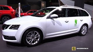 Download 2018 Skoda Octavia Combi G-Tec - Exterior and Interior Walkaround - 2017 Frankfurt Auto Show Video
