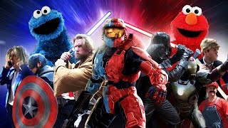 Download RED vs BLUE Video