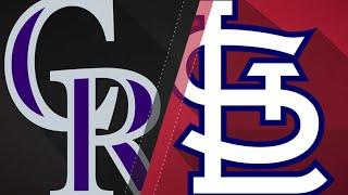 Download Gonzalez's homer, Gray lead Rockies to win: 7/31/18 Video