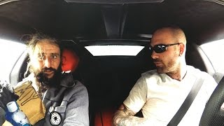 Download Lamborghini owner picks up a homeless man Video