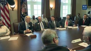 Download President Donald Trump Leads a Listening Session with Truckers and CEOs Regarding Healthcare Video