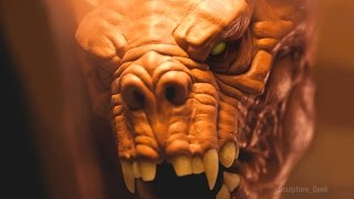 Download Sculpting a Deathclaw from Fallout 4 Traditionally - Sculpture Geek Video