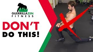 Download #1 MISTAKE Everyone Makes Stretching Hip Flexors Video