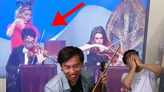 Download Brett Playing Violin on TV... Video