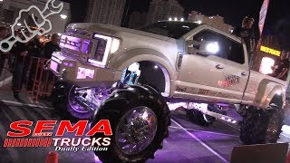 Download LIFTED DUALLY SEMA TRUCKS 2017 Video