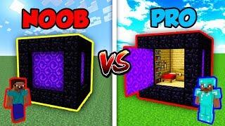 Download Minecraft NOOB vs. PRO: SECRET PORTAL CUBE in Minecraft! Video