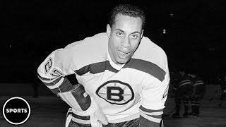 Download First Black Hockey Player In The NHL Video