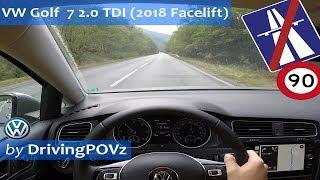 Download 2018 VW Golf 7 2.0 TDI DSG - POV Test Drive Video