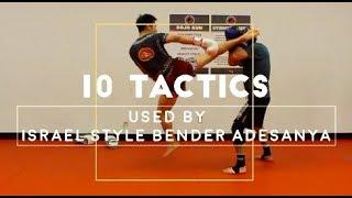 Download Israel Adesanya's BEST 10 Kickboxing TACTICS Video