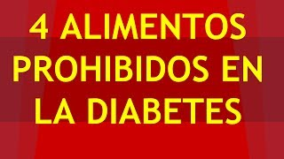Download ✅ 4 Alimentos Prohibidos Para Diabeticos QUE DEBES EVITAR ✅ Video