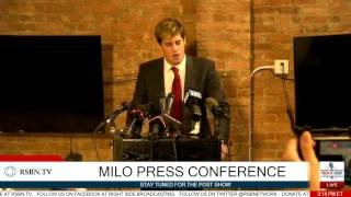Download Milo Yiannopoulos Full Press Conference 2/21/17 Video