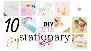 Download DIY 10 CUTE Stationary for School すぐ使えるかわいい&おもしろい文房具アイデア Video