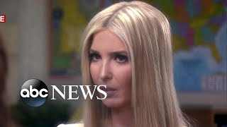 Download Ivanka Trump responds to personal email use questions, border crisis and her father Video