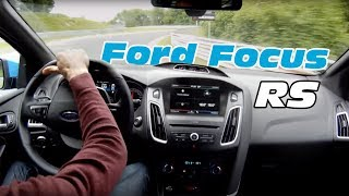 Download Ford Focus RS 2016 Nurburgring test on board (dry and wet track, drift with Sport mode) Video