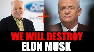 Download Ford & VW Teaming Up To Beat Tesla & Elon Musk! Will They Win? Video