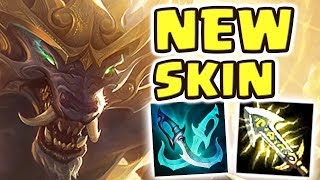 Download NEW LUNAR GUARDIAN WARWICK JUNGLE SPOTLIGHT | NEVER BEFORE SEEN BUILD | THE SKIN GIVES SUPERPOWERS?! Video