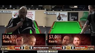 Download Mega Money Matches 2018 | Jamie Stevens v Steve Halliday & Alex Pace v Peter Butterworth Video