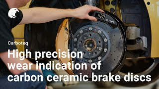 Download Carboteq® - High precision wear indication of carbon ceramic brake discs Video