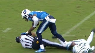 Download NFL Referees Getting Hit Compilation Video