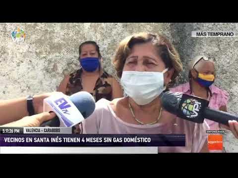 Carabobo - Habitantes poseen cuatros meses sin gas doméstico - VPItv