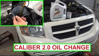 Download Dodge Caliber Oil Change 2.0 Engine. How to change the oil on Dodge Caliber Video