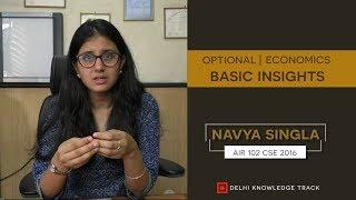 Download CSE Optional | Economics | By Navya Singla (CSE 2016 | AIR-102) Video