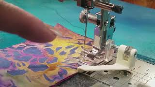 Download Creative Feet - Satinedge Foot How to Sew Accurate 1/4 inch and Scant 1/4 Inch Seams Video