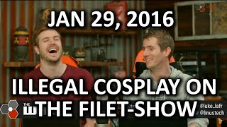 Download The WAN Show - LTT ″Reacts″ to.. Illegal Cosplay! - Jan 29, 2016 Video
