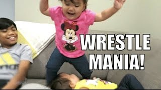 Download BABY WRESTLE MANIA! - July 25, 2015 - ItsJudysLife Vlogs Video