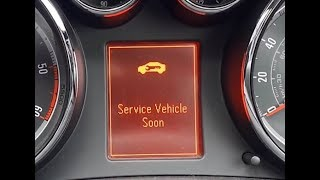 Download Vauxhall Insignia Service Vehicle Soon Message Video