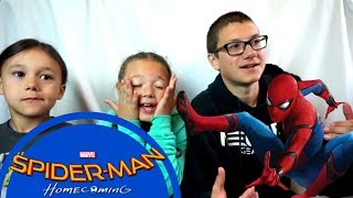 Download SPIDER-MAN: HOMECOMING Official Trailer #3 Reaction!!! Video