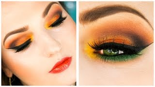 Download FALLING LEAVES Fall Makeup for Thanksgiving Video
