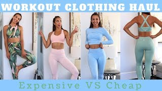 Download Workout Clothing Haul | Expensive vs CHEAP Sets Video