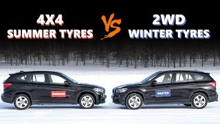 Download 4WD VS Winter Tyres - Do you need winter tyres if you have 4WD? Video