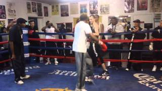 Download 61 Year Old Floyd Mayweather Sr. Outboxes The Hell Out Of Charlie Zelenoff Video