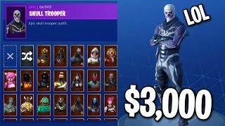 Download MY $3,000 FORTNITE SKIN COLLECTION... (All My Rarest Skins) Video