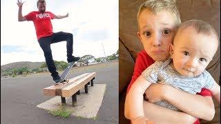 Download ADIML 70: I MISS MY KIDS! (And Skateboarding Tricks) Video