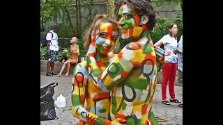 Download Bodypainting Day Part II on Saturday July 18, 2015 Video