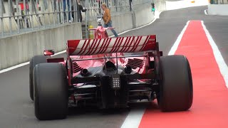 Download Ferrari F1 F2007 + F2008 - BRUTAL V8 Engine Sounds Video