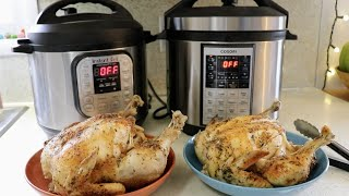 Download Whole Chicken || Instant Pot vs. Cosori Video