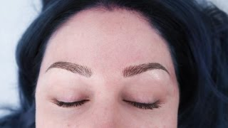 Download Microbladed Eyebrows Technique/Follow Up! | KristenLeanneStyle Video